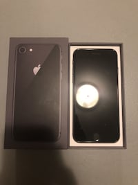 iPhone 8 black 64 gb 10/10 !! - warranty April 1 , 2019 Toronto