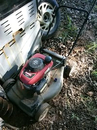 gray and red push mower Greenville, 29609