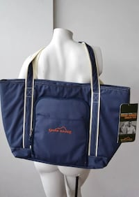 ad4eafd1fd49 Used Blue and white Eddie Bauer tote bag for sale in Wahiawa - letgo