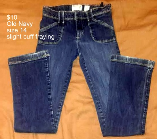 Girls Old Navy Jeans size 14 Martinsburg