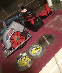 "BOSCH 5 3/8"" CORDLESS SKIL SAW - WITH 2. BATTERIES AND CHARGER Calgary, T2A"