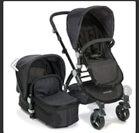 Babyroues Letour ll Stroller, Black East Rutherford