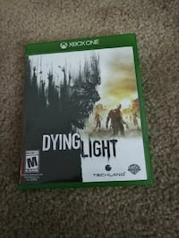 Dying Light Xbox One game case