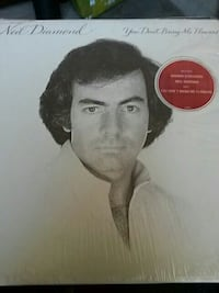 Neil Diamond vinyl record disc case Toronto, M2R 3K1