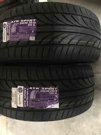 two vehicle tires Tampa, 33624