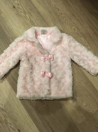 Baby Tots fifth Ave Pink Soft Jacket  Size 12 months