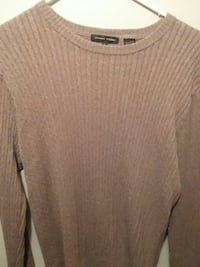 Jeanne Pierre sweater brown Large  Myrtle Beach, 29577