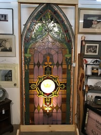 brown and green floral wooden cabinet Atlanta, 30345