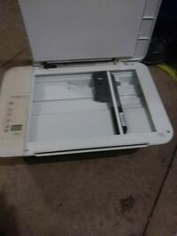white HP all-in-one printer