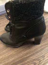 Franco Sarto leather boots, size 9