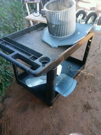 Black industrial cart great for electrical great Phoenix, 85040