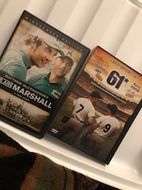 Sport movie dvds good condition $5 for all pictured  Sun Valley, 89433
