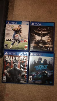 PS4 games Silver Spring, 20902