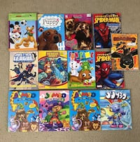Lot of coloring books