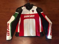 ducati white red black and green leather jacket Miami, 33125