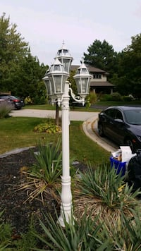 exterior lamp post , you must remove, hooked up to electrical Burlington, L7P 3J5