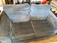 two gray-and-blue fabric sofa chairs Accokeek, 20607