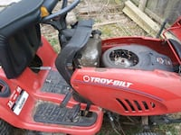 red and black Troy-Bilt ride on mower District Heights, 20747