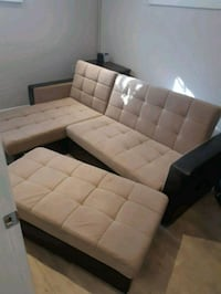 King-Size Sofa Bed with Ottoman Richmond Hill, L4C 6Z2
