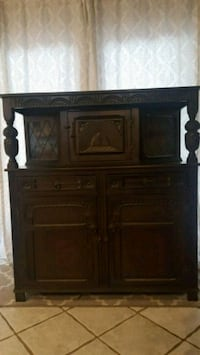 brown wooden dresser with mirror Modesto, 95350