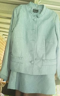 Turquoise womens suit