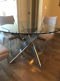 Dining Table & 4 Chairs Calgary, T3M 1K7