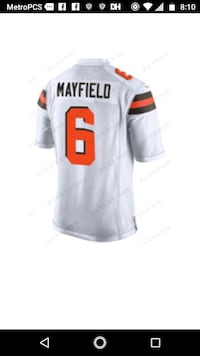 e22172333 Used Baker Mayfield Jersey Oklahoma Sooners  6 for sale in Medina ...