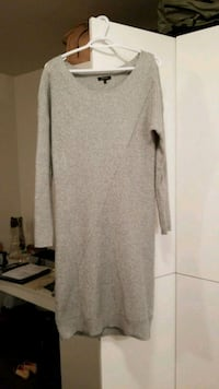 Professional grey sweater dress RW&CO Victoria, V8T 0C2