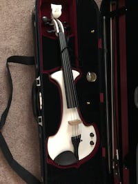 black and white violin with case Colorado Springs, 80919