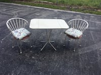 Foldable table 2 chairs/ delivery available  Boynton Beach, 33436