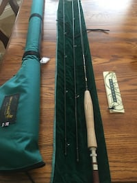 Fly rod fishing pole Brand new never used. Awesome price