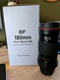 Canon EF 180mm f/3.5L macro USM camera lense  Stephens City, 22655