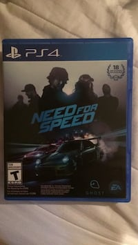 Need for Speed PS4 game case Ottawa, K2A 1X3