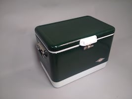 Retro Coleman High Quality Steel Cooler Ice Chest
