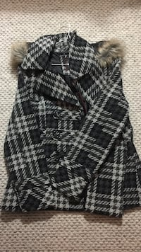 Black and gray plaid parka Halifax, B3K 3A7