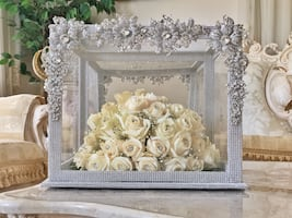 Crystalized display case