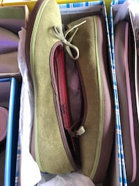 pair of brown boat shoes Schererville, 46375