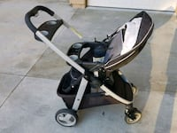 baby's black and gray stroller Costa Mesa, 92626
