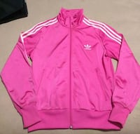 Women's Pink Adidas Zip-Up Jacket Vancouver, V5R 2P3