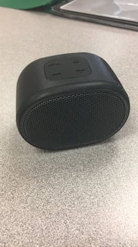 black and gray portable speaker Mississauga, L5V 1N6