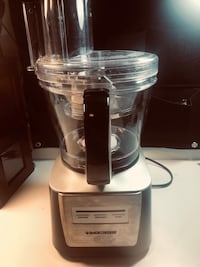 Black and decker stainless steel food processor