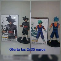 Goku black y vegetto blue
