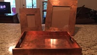 Copper frames and display tray Raleigh, 27603