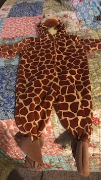 toddler's giraffe footie pajama