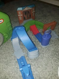 blue and green plastic toy Miller Place