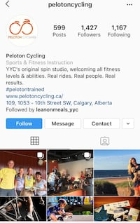 Spin Classes (x5-pass)-Peloton Cycle  Calgary