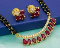 Colorful Stone Studded Mangalsutras Vol 1 Material Ahmedabad