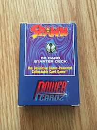 Spawn Power Cardz starter deck Morinville, T8R 1G6