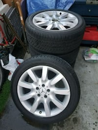 18 INCH MERCEDES S CLASS WHEEL  WITH TIRES X4 Santa Rosa, 95401