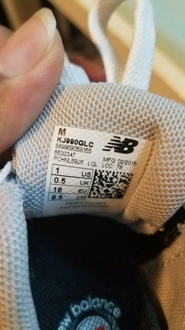 2 pairs....1 Black and 1Gray...BABY NEW BALANCE e24bacb7-0bba-4d40-8f10-5dbfebb5c8f1